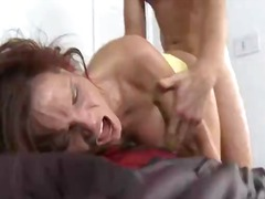 Syren goes crazy for this rod as she is having her pussy pounded.