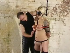 fetish, bondage, nylon, blondiner, bdsm