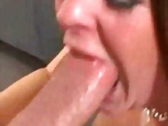 cock, oral, cum, blowjob, deepthroat, throat, brunette, whore, pumped, gagging, deep, brutal, face, sucking, dick