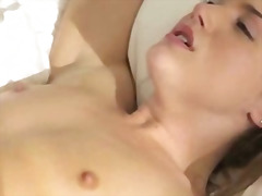 loves, sucking, adorable, movies, brunette,