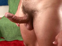 jerking, gay, cock, hunk, big, solo