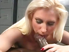 Devon, handjob, blowjob, interracia, devon, blonde, bigtits
