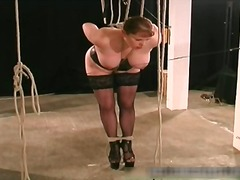 slave, bondage, bdsm, fetish, bryster, bundet sex