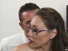 tits, huge, brunette, boobs, massive, school, titties, pornstar, fake, stockings, blowjob, brazzers, big, office, work, natural, miko, perfect, nice, glasses, monster