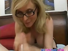 Gorgeous blonde milf with an apetite for cocks
