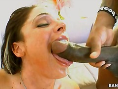 slut, mouthful, nasty, destroyed, deep, dark, old, opening, tanned, gets, wide, nude, cock, hard, fucking