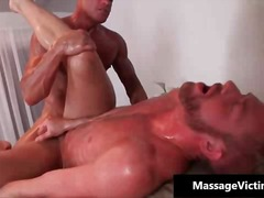 massage, hunk, röv