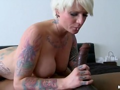 pornstar, mature, hardcore, milf, interracia, facial, tattoo, blonde, blowjob