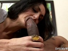 Erotic housewife having banged by the stranger