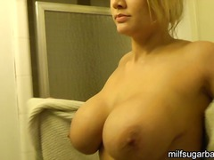 milf, wife, cash, blonde, white, money, shower, scene, tits, american, escort, hardcore, fucking, big