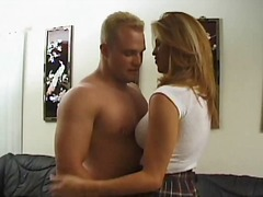 fucking, college, guy, cumshot, blonde, shemale, condom