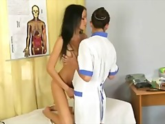 Lesbian gynecologist likes to seduce patients