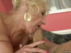 movies, granny, trainer, fucking, petting, old, lady