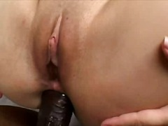 interracia, anal, cock, brunette, fishnets, big,