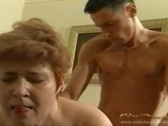 Hairy old hole hardcore with a cumshot