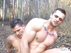 outdoors, gay, ass, fucking, anal