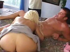 Slutty blonde wife cuckolding