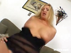 rusbank, rof, blond, hard, milf