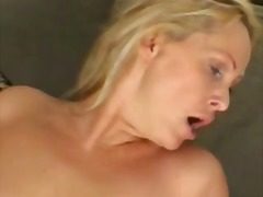 Nasty milf gets pounded on the couch
