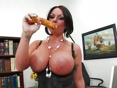 shoe, pussy, toys, louise, solo, monster, mature