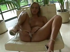 solo, machines, heels, high, masturbation, legs, twistys, blonde, fucking, toys