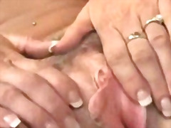 brunette, ebony, insertion, milf, tight, interracia, clit, fisting, mature, vagina, black, finger, oral, straight, cunt