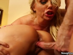 Driesaam, Blond, Stoute, Pornstêr, Hard