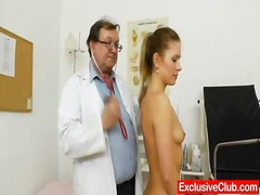 Thin vixen cunt exam