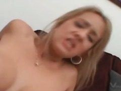 Trina michaels sits on big dick in pov video