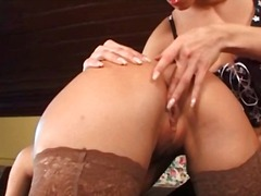anal, lesbiennes, godes,