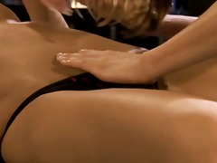 cindy hope,  vagina, masturbationen, lecken, oral, kuss, lesbisch, vagina, blond, fersen