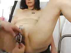 fetish, internal, tight, cougar, granny, pussy, clit, hairy, vagina
