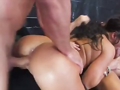 London Keyes, slap, anal, dp, gape, rough, asian, threesome, pornstar, rimjob, london keyes