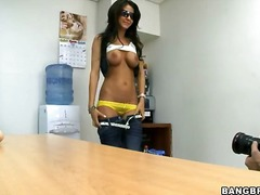 long, pov, office, teen, hairy