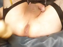lingerie, anal, crossdressing, crossdresser