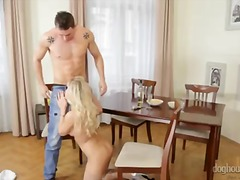 handjob, big cock, monstercock, ejaculation, blonde, big ass, cock, masturbation, big boobs, jerking, penis, stroking