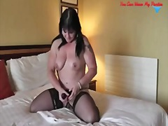 crossdresser, fishnet, hairy, massage, pee, smoking, wanking, cowgirl, flashing, kinky, oil, squirt, cameltoe, fetish