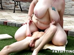 chubby, femdom, facesitting, big ass, hardcore, ass, fat, bbw, slave, mistress, domina, domination, czech