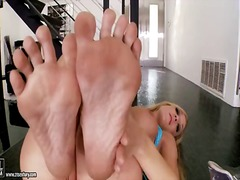 Amy Brooke, fetish, fetish picior