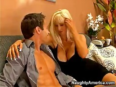 Blonde milf with big tits brittany