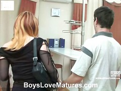 Freaky hardcore sex movie presented by boys love matures