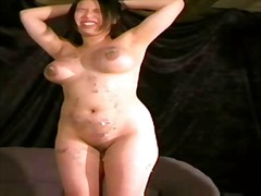 tits, spanking, big, busty, asian, slave, extreme