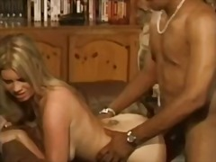 Cheating blonde beauty with nice natural
