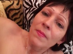 older, brunette, masturbation, mom, granny, mature, milf