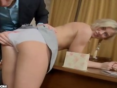 anal, blonde, penetration, asshole, ass, hole, hard, gaping, crack, attack