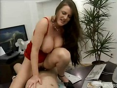 Trekant, Pupper, Kontor, Doggy Style, Sexy Mødre (Milf)