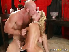 Look at amazing and shameless blonde sex doll cherie deville fucking with johnny sins