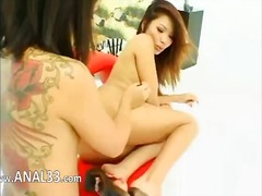 brunette, toy, pornstar, asian, whore, lesbian