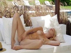 babe, blonde, outdoors, beautiful, outdoor, pussy
