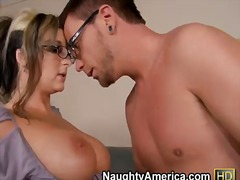 Enjoy lickerish and horny teacher shay morgan seducing dane cross